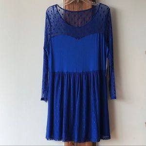 NWT Kensie Dot Lace Fit & Flare Dress- Size XL